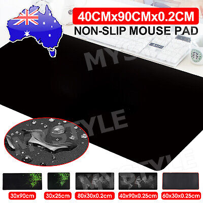AU5.85 • Buy ALL SIZE Extra Large Size Gaming Mouse Pad Desk Mat Anti-slip Rubber Mousepad