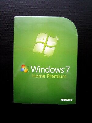 Microsoft Windows 7 Home Premium 32/64-BIT DVD GFC-00025 GUARANTEED GENUINE NEW • 129£