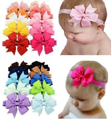 Baby Headbands Turban Knotted Girl's Hairbands For NewbornToddler And Childrens • 2.03£