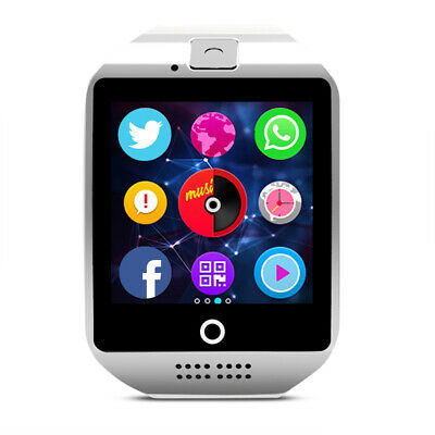 $ CDN51.45 • Buy Smartwatch Q18 Bluetooth Uhr 2.5D HD Display Android IOS Samsung IPhone Huawei