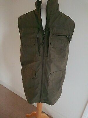 (BB) Peter Storm Khaki  Gilet With Various Pockets Size S Used Condition  • 10.50£