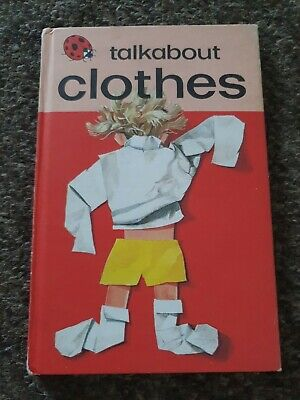Vintage 1977  Ladybird Book Talkabout Clothes Matt Boards  • 3.99£