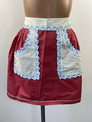 Handmade Vintage Style Half Pinny/Apron With Pockets • 8£