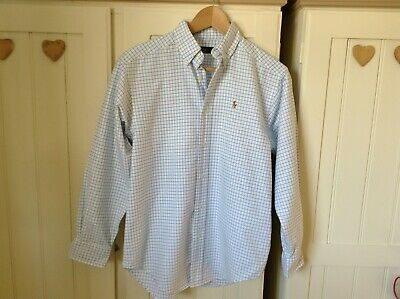 Lovely Ladies Ralph Lauren Check Shirt Size 14 • 4£