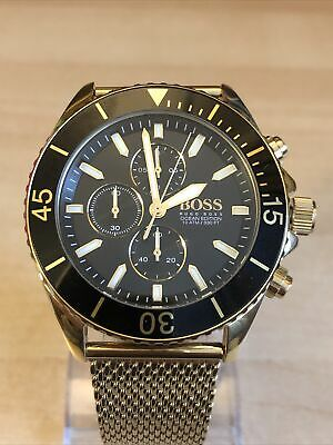 Hugo Boss Gold Men's Watch Chronograph • 11.50£