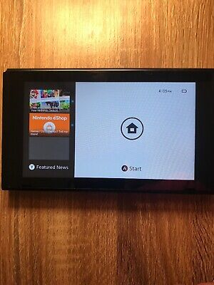 $ CDN198.22 • Buy Nintendo Switch Console Pokemon Edition TABLET ONLY 32GB Black TESTED WORKING