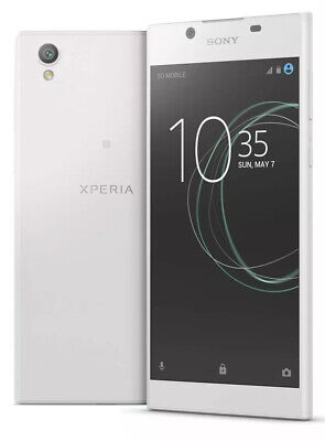 Brand New Sony Xperia L1 White-16gb-2gb Ram-13mp-unlocked-4g Android Phone-uk • 89.99£
