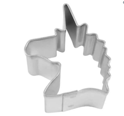 AU3 • Buy New Mini Unicorn Head Fondant/ Cookie Cutter  (1)