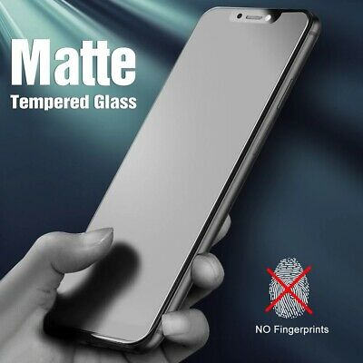 AU2.90 • Buy Matte Tempered Glass Screen Protector For IPhone 11/12 Pro Max/12 Mini/X/XR/XS