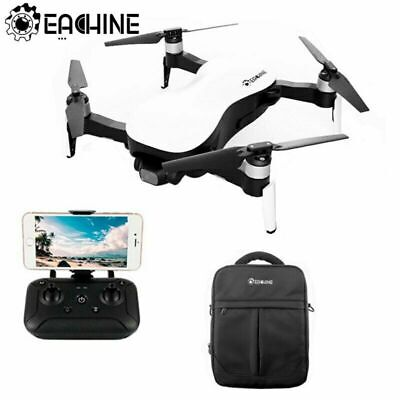Upgraded Eachine EX4 Pro Drone 3KM FPV GPS 4K HD Camera 3-Axis Gimbal 25 Mins • 239£