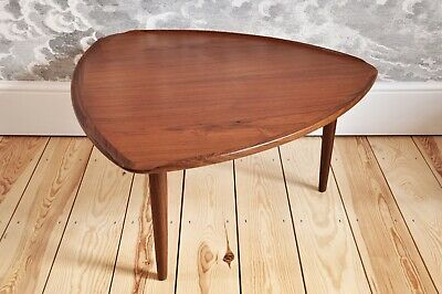 "Vintage Retro 60's Danish Rosewood ""Guitar Pick"" Coffee Table By Poul Jensen • 1,580£"