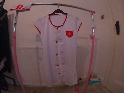 Size 8 Nurse Outfit Halloween With Accessories • 8£