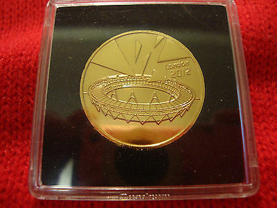 £69 • Buy  Completer Medallion 2012 London Olympics Coin 24k Gold Plated.