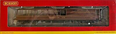Hornby 00 Gauge - R4473 - Maroon Pullman Observation Car With Lights Boxed • 99.99£