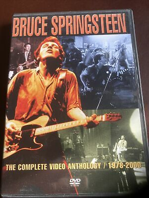 Bruce SPRINGSTEEN: The Complete Video Anthology - 1978-2000 DVD 2 Discs • 6.99£