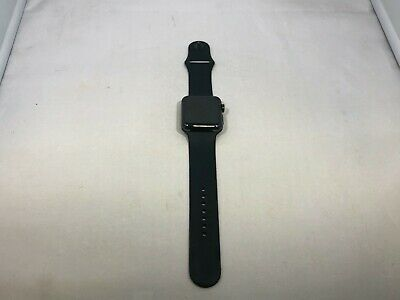 $ CDN302.62 • Buy Apple Watch Series 3 Cellular Black Stainless Steel Good Cond 42mm W Black Sport