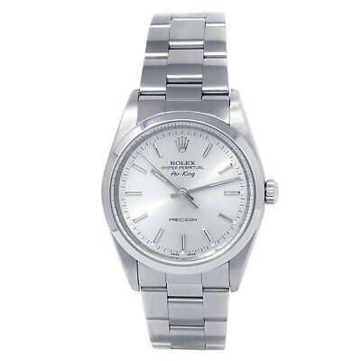 $ CDN4658.21 • Buy Rolex Air-King Stainless Steel Oyster Automatic Silver Men's Watch 14000M