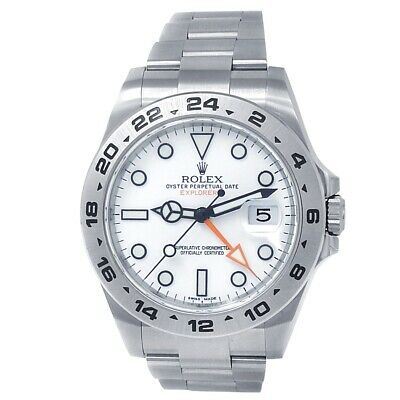 $ CDN11924.49 • Buy Rolex Explorer II Stainless Steel Oyster Automatic White Men's Watch 216570