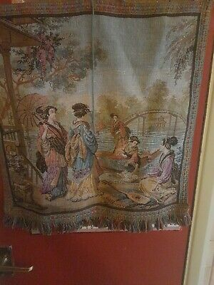 Oriental Tapestry Wall Hanging • 25£