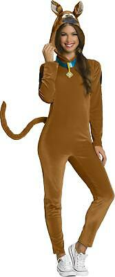 £38.17 • Buy Scooby Doo Adult Pajama Jumpsuit With Hood Costume Small