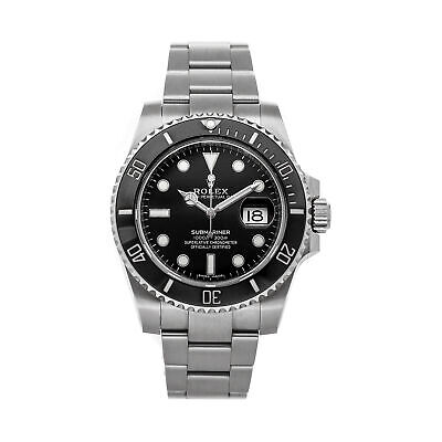 $ CDN18110.93 • Buy Rolex Submariner Date Auto 40mm Steel Mens Oyster Bracelet Watch 116610LN