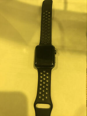 $ CDN302.63 • Buy Apple Watch Nike+ 42mm Space Gray Aluminium Case With Anthracite/Black Nike...