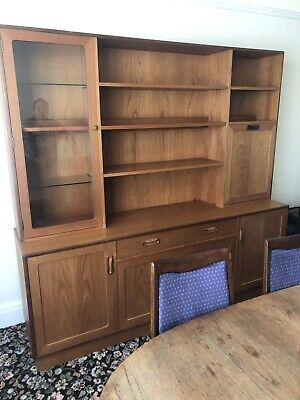 G Plan Teak Sideboard, Wall Unit, Drinks Cabinet - Excellent Condition • 30£