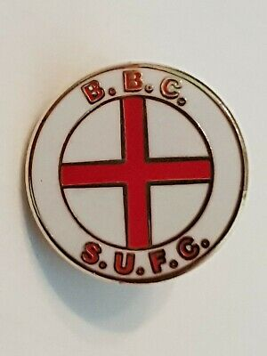 Sheffield United Utd Hooligan Pin Badge. BBC Blades Business Crew. England Flag • 7.50£