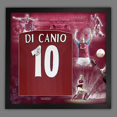 £329.99 • Buy Paolo Di Canio Signed West Ham United Football Shirt In Framed Picture Display