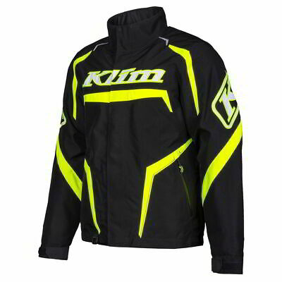 $ CDN391.01 • Buy Klim K20 Kaos Mens Snowmobile Jackets-Black/Hi-Vis-X-Large