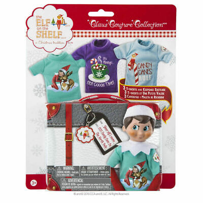 AU63 • Buy The Elf On The Shelf: Claus Couture Collection 3 Outfits Mermaid Super Hero LF
