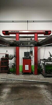 Hunter DSP 400 4 Wheel Alignment With 4 Tonne 4 Post Ramp With Center Jacking... • 2,000£