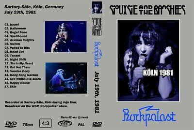Siouxsie And The Banshees - Live In Köln 1981 'Rockpalast' - Rare DVD! (Proshot) • 12.15£