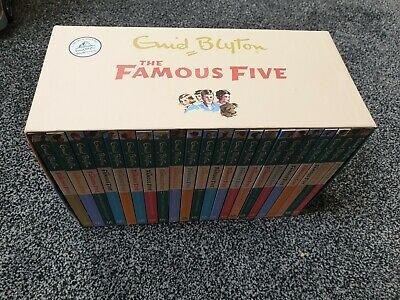 The Famous Five Collection By Enid Blyton 22 Book Set • 35£