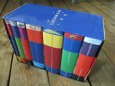$ CDN530.91 • Buy Harry Potter Hardback Set 1-7 With Cover Box - 2 First Edition Books
