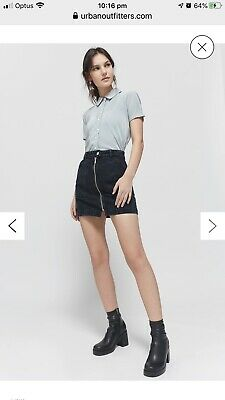 AU24.99 • Buy Urban Outfitters Black Skirt New! Size M