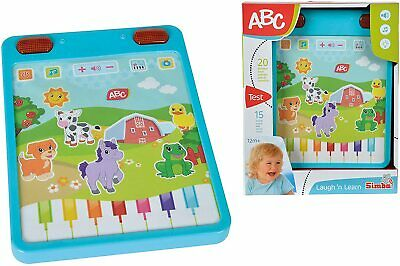 £12.95 • Buy ABC 104010076 Simba My First Tablet 12-36 Months Baby Activity Fun Toy