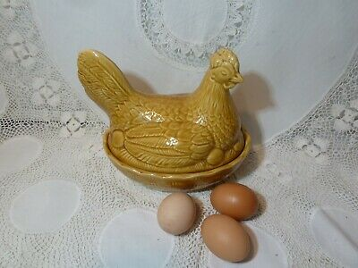 Vintage Retro Sadler Stoneware Egg Holder Ceramic Storage Chicken Hen England  • 19.99£
