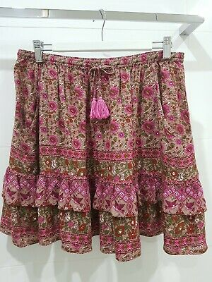 AU51 • Buy Spell And The Gypsy Collective Pretty Kombi Skirt. Size Medium.