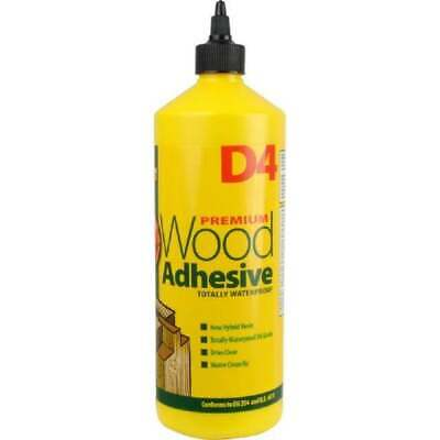 D4 EVERBUILD Wood Glue All Purpose Waterproof Adhesive Floor Furniture • 5.99£
