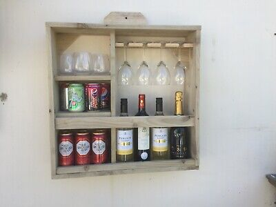 Mini Outside Drinks Wall Bar. For Wine, Gin, Prosecco And Beer. • 55£