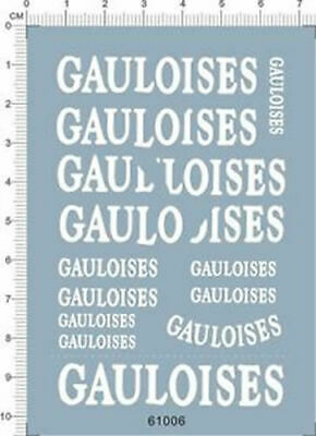 £5.39 • Buy Water Slide Decals 1/12 YAMAHA YZR-M1 GAULOISES 04 (61006) For Model Kits