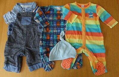 Lot Ab - Baby Boys Clothes Bundle - 0 To 3 Months - Used • 2.80£