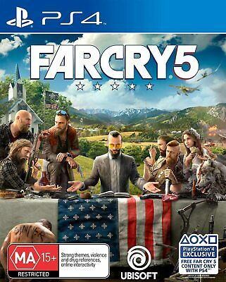 AU48 • Buy Far Cry 5 Playstation 4 Sony PS4 RPG Action Shooter Game FC5 Farcry 5