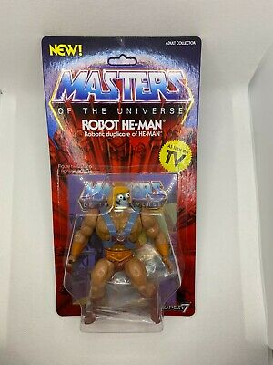 $34.99 • Buy New Super 7 Masters Of The Universe Robot He-Man Action Figure Sealed Classic