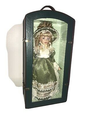 $ CDN120 • Buy Vintage 17 Inches AppRox Porcelain Doll In Suitcase/ Free Shipping