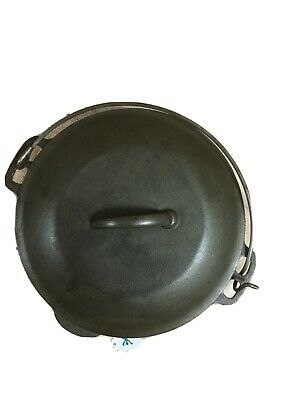 $ CDN72 • Buy UNMARKED WAGNER 5Qt. CAST IRON DUTCH OVEN