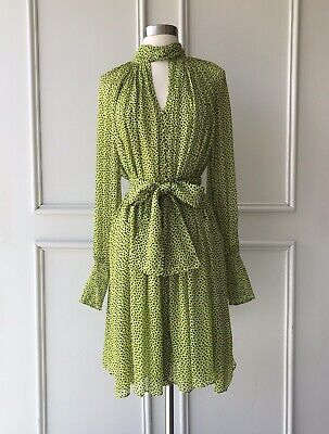 AU89.95 • Buy | COUNTRY ROAD | Twist Knot Dress Lime Green | NEW | $179 | SIZE: 4,6,8,10,12,14