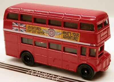 $ CDN16.28 • Buy Matchbox London Bus Red  What's Your Adventure  AEC Routemaster Double Decker