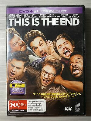 AU10 • Buy This Is The End - Seth Rogen , James Franco - Brand New Sealed DVD R2,4,5
